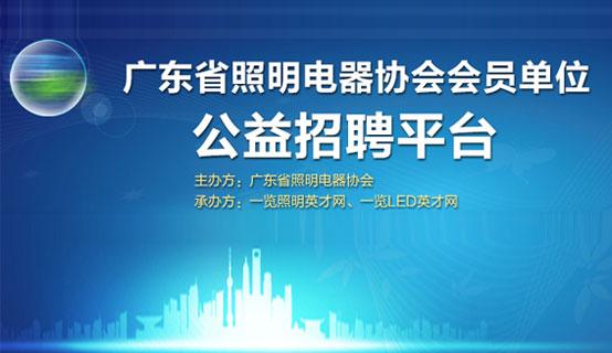 广东省照明行业协会招聘信息