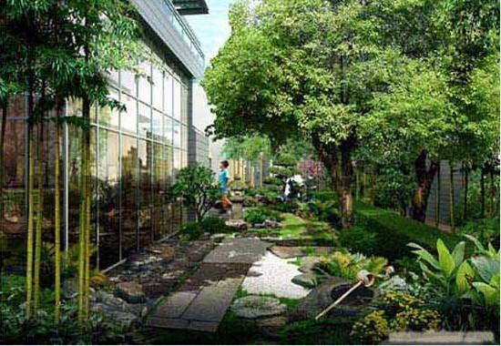 园林现代庭院设计
