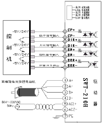 plc电机控制器接线图