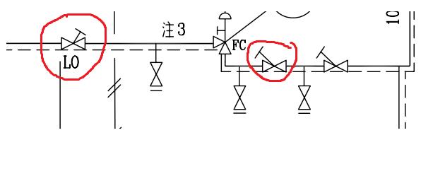 角阀电路图符号