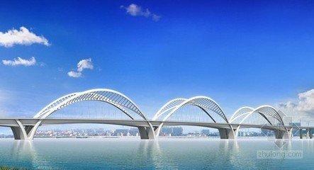 全钢结构双层拱梁组合体系的特大桥