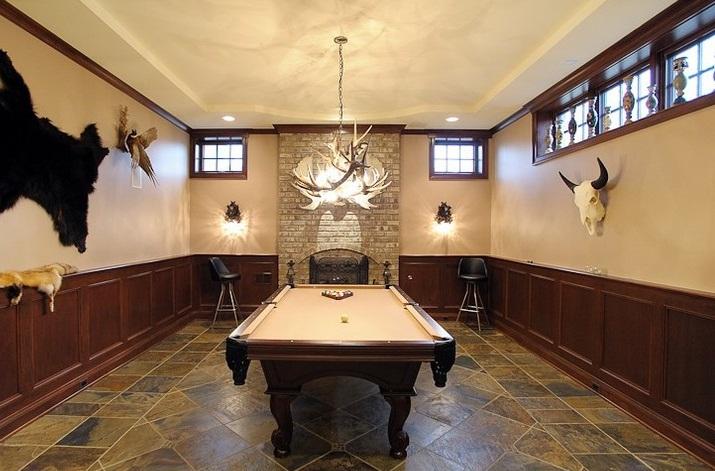 别墅地下室如单单用于储藏