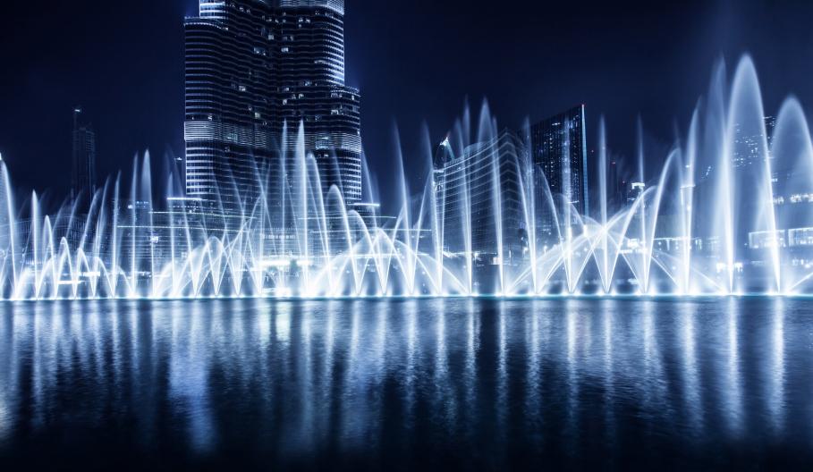 世界上最大的音乐喷泉——迪拜喷泉-leon