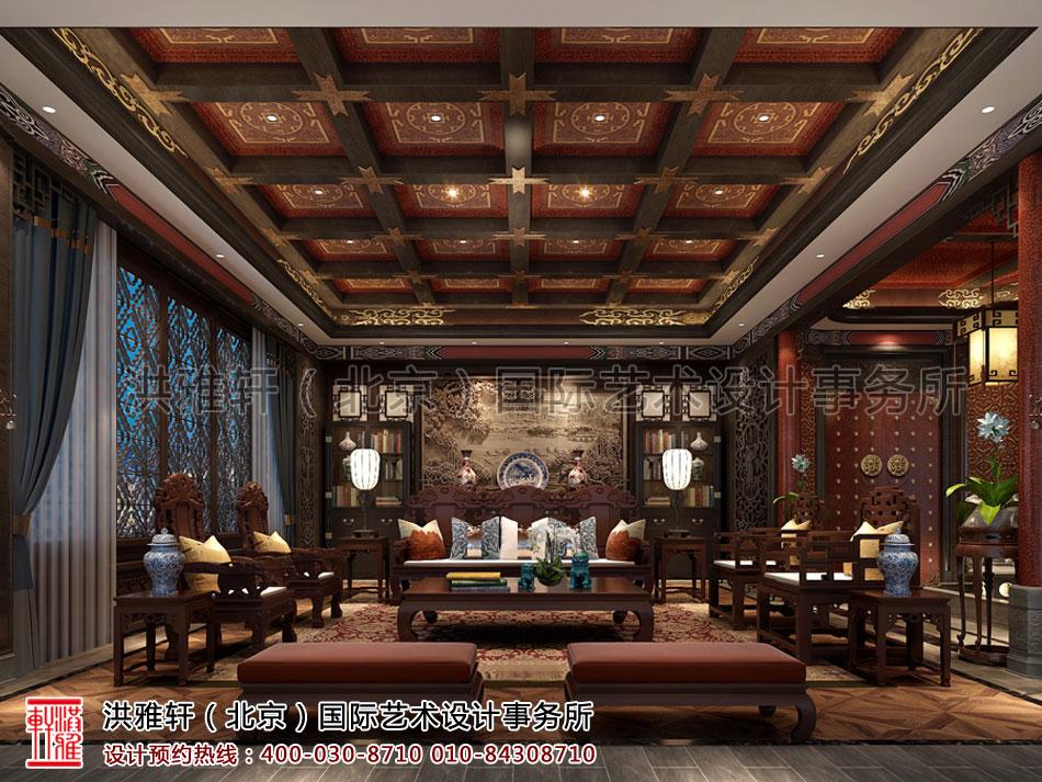 南京古典中式装修茶楼会所