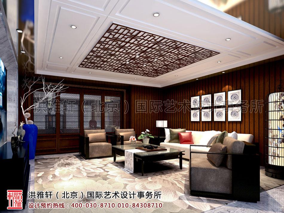 南昌精品住宅新中式设计,舒适明快婉约雅致