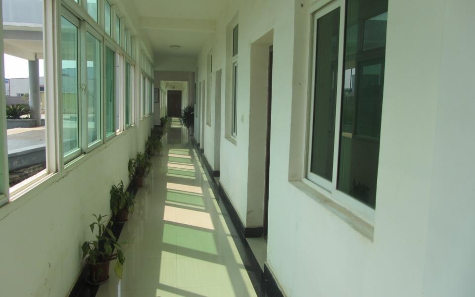办公楼走廊