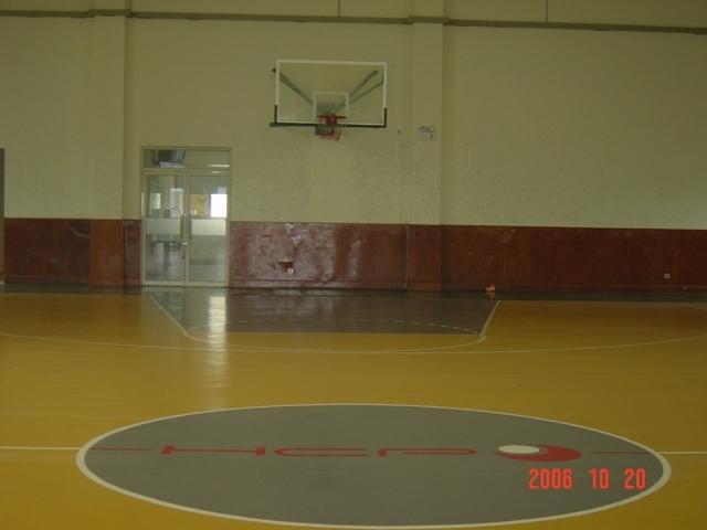 公司室内篮球场