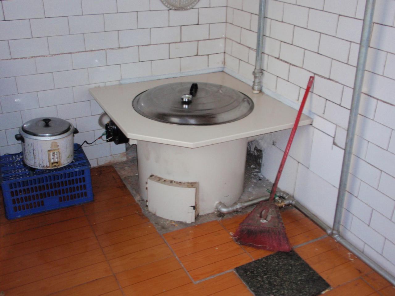 农村厨房灶台锅炉装修效果图