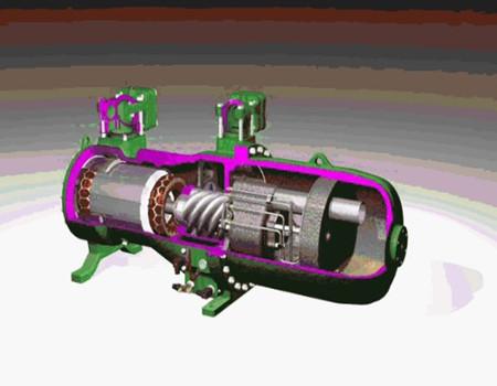 螺杆压缩机工作原理及结构比较