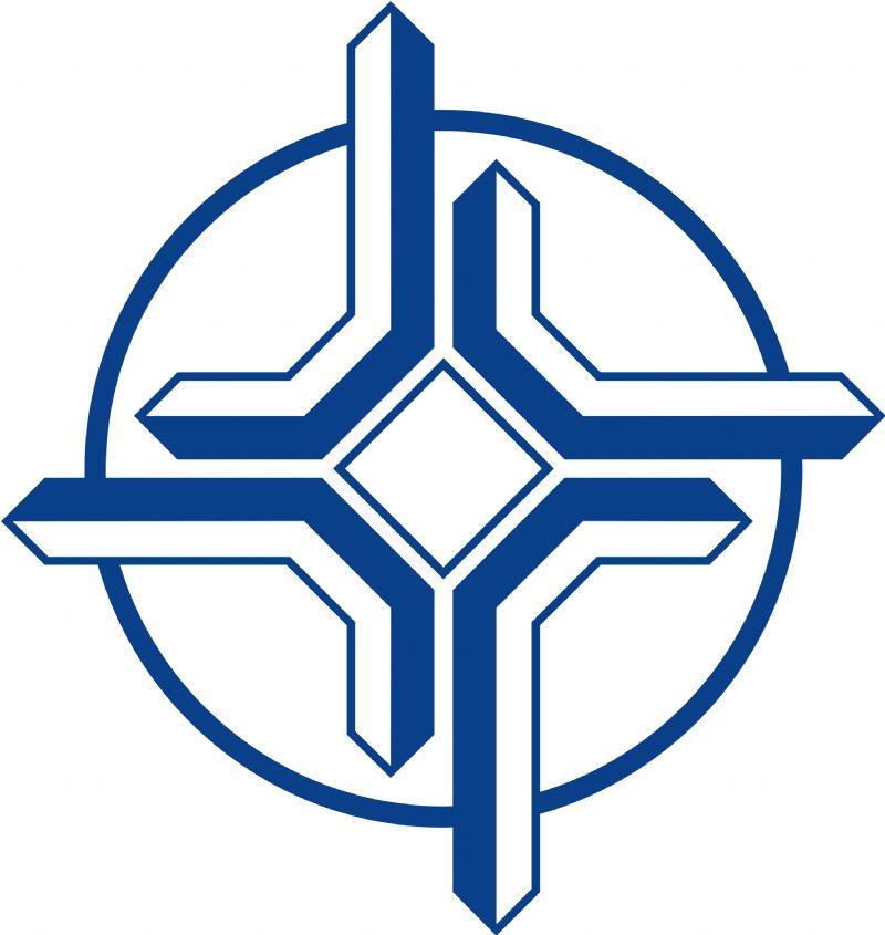 厦门交通警察徽标矢量图