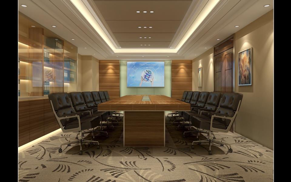 公司会议室装修图片大全
