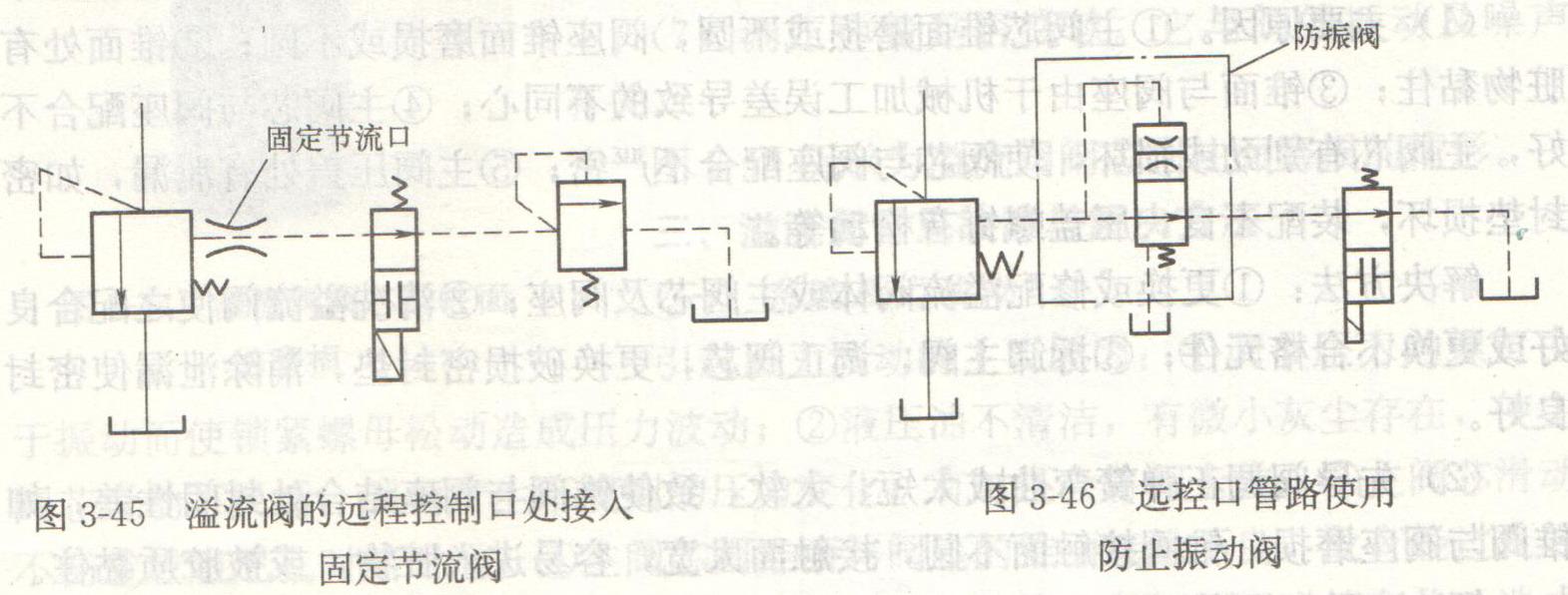 (一)系统压力波动 引起压力波动的主要原因:液压系统调节压力的螺钉由于振动而使锁紧螺母松动造成压力波动;液压油不清洁,有微小灰尘存在,使主阀芯滑动不灵活,因而产生不规则的压力变化,有时还会将阀卡住;主阀芯滑动不畅造成阻尼孔时堵时通;主阀芯圆锥面与阀座的锥面接触不良,没有经过良好磨合;主阀芯的阻尼孔太大,没有起到阻尼作用;先导阀调正弹簧弯曲,造成阀芯与锥阀座接触不好,磨损不均。 解决方法:定时清理油箱、管路,对进入油箱、管路系统的液压油要过滤;如管路中已有过滤器,则应增加二次过滤元件,或调整二