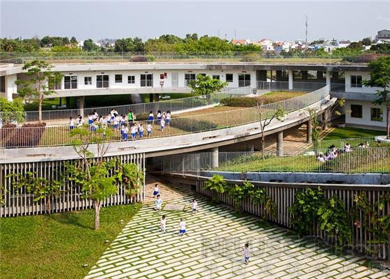 越南乡下结形幼儿园图片