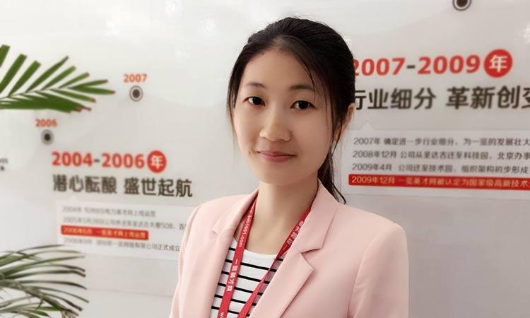 机电机械行业-职业经纪人朱丽娟