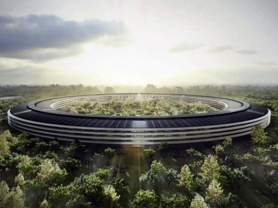 苹果公司总部设计图