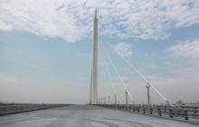 南沙凤凰一桥沥青检测试验
