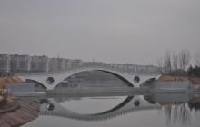 新郑轩辕湖施工