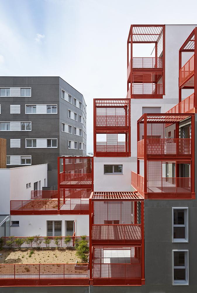 【建筑设计赏析】昔日工业区转变成生态小区